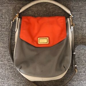 Marc Jacobs Leather Colorblock Tote Satchel